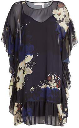 See by Chloe Printed Kaftan Dress