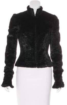 Chloé Cropped Faux Fur Jacket