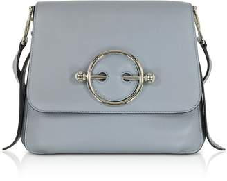 J.W.Anderson Ice Blue Leather Disc Bag