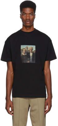 Palm Angels Black American Gothic T-Shirt