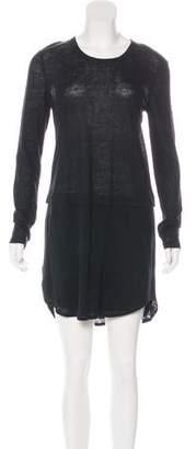 A.L.C. Long Sleeve Linen Dress