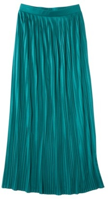 Mossimo Women's Pleated Maxi Skirt - Assorted Colors