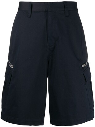 Emporio Armani side zipped pockets bermudas