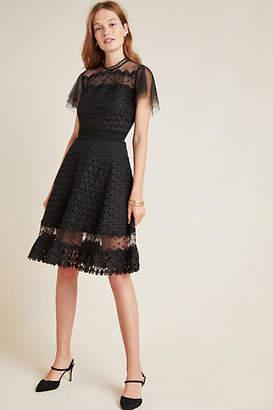 Shoshanna Brynn Lace Mini Dress