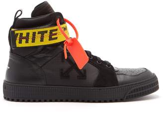 Off-White Industrial high-top leather trainers