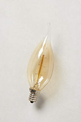 Anthropologie Flame Chandelier Bulb
