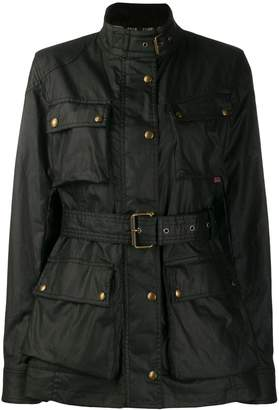 Belstaff belted shell jacket