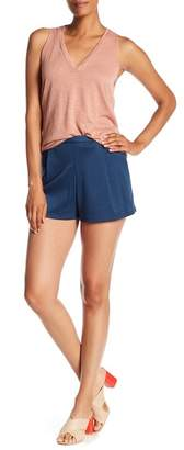 Lily White Pleated Soft Shorts