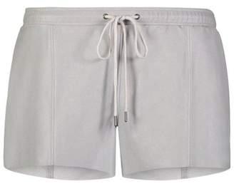 David Lerner Grey Sport Shorts
