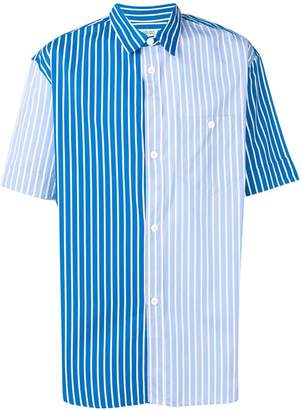 Kenzo two tone striped shirt