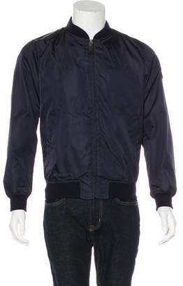 Prada Wool-Trimmed Bomber Jacket