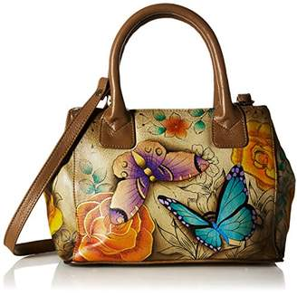 Anuschka Anna by Hand Painted Leather Women's Small Convertible Tote