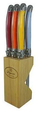 Carnaval Multi Coloured Handles in Wood Block Option: 6