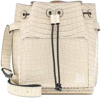 Altuzarra Espadrille croc-effect bucket bag