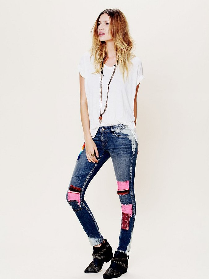 Artisan de Luxe Funky Free Patched Skinny