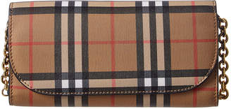 Burberry Vintage Check Wallet On Chain