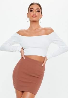 Missguided Petite Rose Pink Basic Skirt
