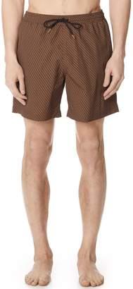 Billy Reid Heirloom Swim Trunks