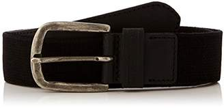 Napapijri Men's Pallet Belt, (Black 041), (Size: 2)