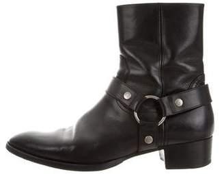 Saint Laurent Wyatt 40 Ankle Boots