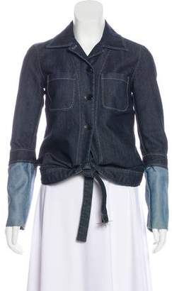 Viktor & Rolf Denim Button-Up Jacket