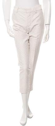 Tia Cibani Polka Dot Cropped Trousers w/ Tags