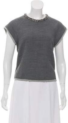 3.1 Phillip Lim Sleeveless Sequin-Embellished Top