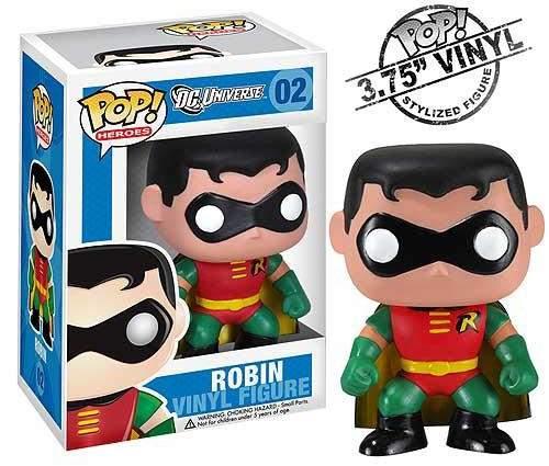 DC Universe Heroes Pop! Vinyl Robin Figure