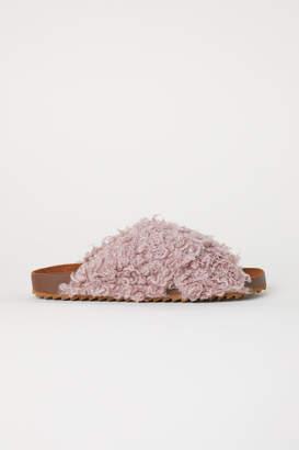 H&M Pile Slides - Pink