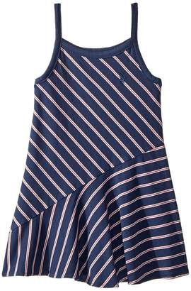 Polo Ralph Lauren Striped Cotton Jersey Maxi Girl's Dress