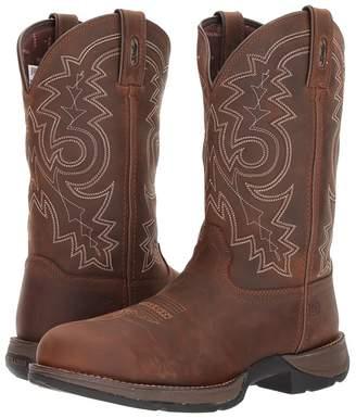 Durango Rebel 12 Western WP Steel Round Toe Cowboy Boots