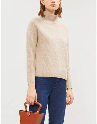 Max Mara Leandra cable-knit cashmere jumper