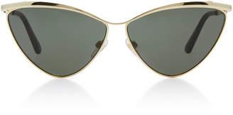 Balenciaga Sunglasses Cat-Eye Metal Sunglasses