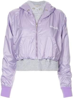 Natasha Zinko hooded bomber jacket