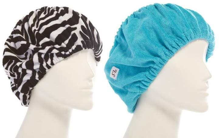 Tassi Hair Holder Duo - Blue/Zebra
