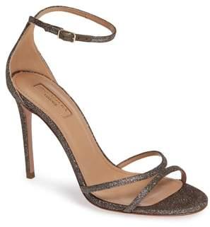 Aquazzura Purist Metallic Ankle Strap Sandal