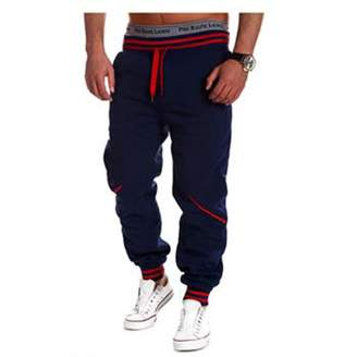 Lee Evelin Men's Harem Casual Jogger Sport Sweat Pants Trousers