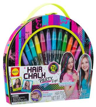 Alex Hair Chalk 74-Piece Party 2 Go Set