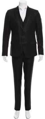Dolce & Gabbana Silk Three-Piece Suit