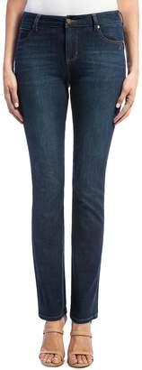 Liverpool Remy Straight-Leg Jeans in Dark Blue
