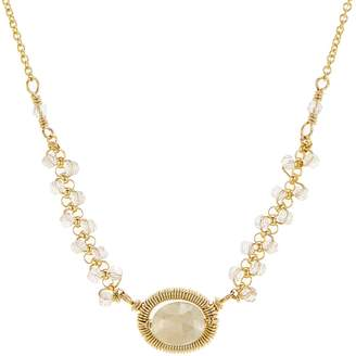 Dana Kellin Beaded Pendant Necklace, 16