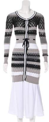 Missoni Knit Long Sleeve Cardigan