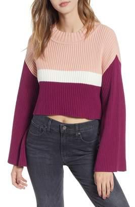 Somedays Lovin Get It Girl High/Low Rib Sweater