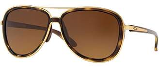 Oakley Women's Split Time Aviator Sunglasses