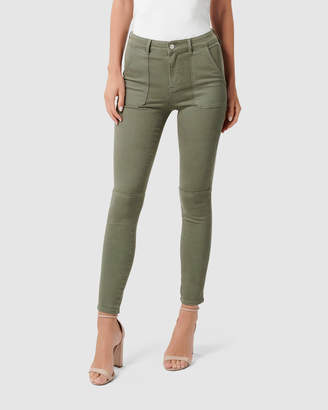 Forever New Jessie Mid Rise Cargo Jeans