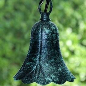 Dabmar Lighting Tree Bell Flower 4.17 ft. 1-Light Lantern String Lights Dabmar Lighting