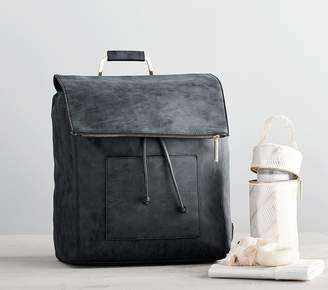 Pottery Barn Kids Rosie Pope Highbury Hill Diaper Bag Backpack, Dusty Navy