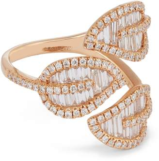 Anita Ko Rose Gold Leaf Ring