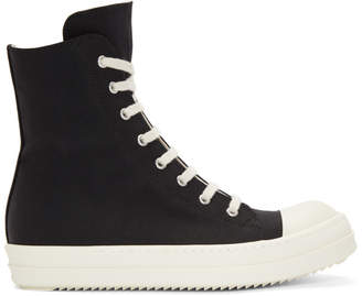 Rick Owens Black Murray High-Top Sneakers