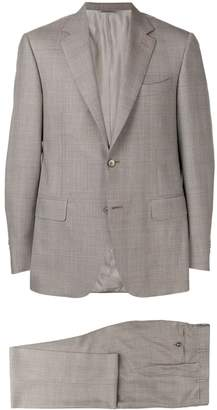 Canali glen check two-piece formal suit